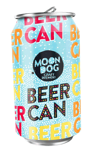 Moon Dog Beer Can 330ml x 10 PACK