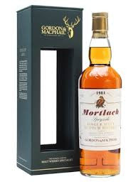GORDON MCPHAIL RARE VINTAGE MORTLACH 1984 SPEYSIDE SINGLE MALT 43%