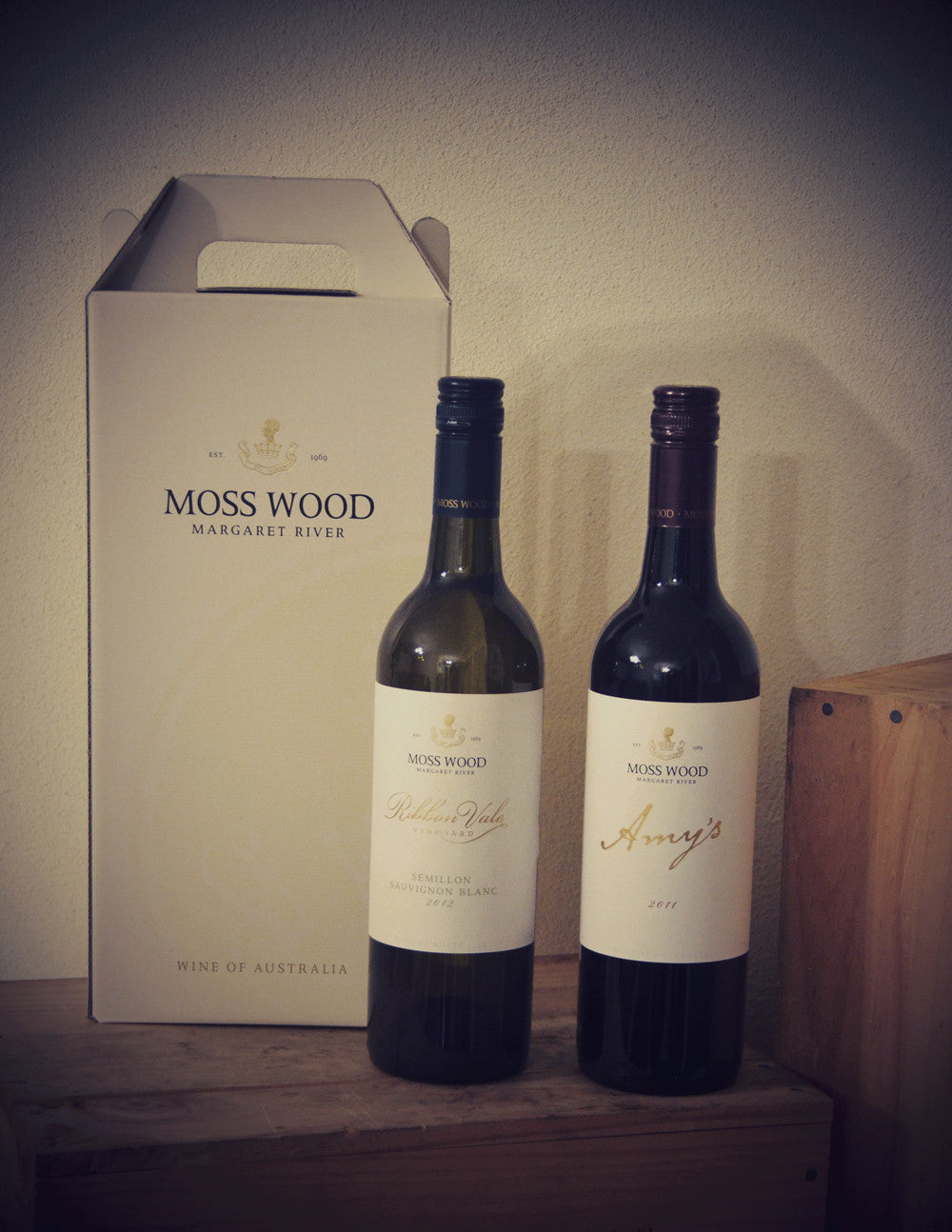 MOSS WOOD TWIN PACK (AMY'S CABERNET BLEND & SSB)