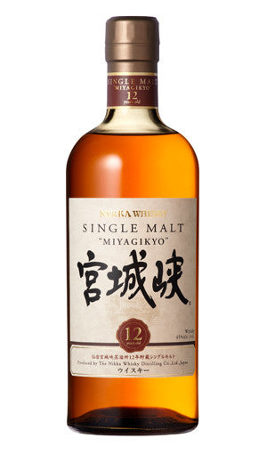 NIKKA MIYAGIKYO 12 YO JAPANESE SINGLE MALT