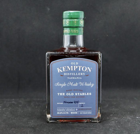 "Old Kempton Distillery ""The Old Stables"" Tasmanian Single Malt 40.5% 500ml"