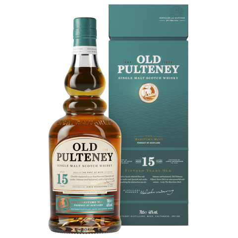 OLD PULTENEY 15 YR OLD SINGLE MALT