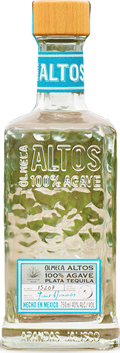 OLMECA ALTOS TEQUILA PLATA 700ML