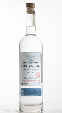 OCHO 100% BLUE AGAVE TEQUILA BLANCO 750ML