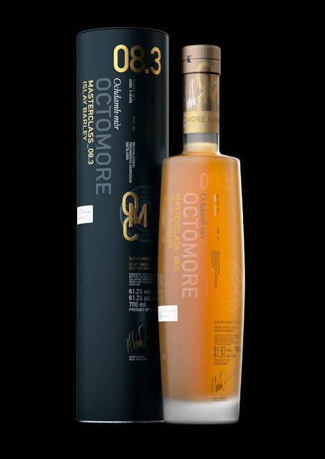 OCTOMORE 8.3 ISLAY BARLEY 5 YO 61.2% 309ppm