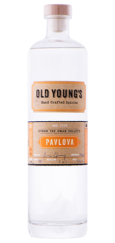 OLD YOUNGS PAVLOVA VODKA 700ML
