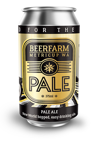 BEERFARM PALE ALE 375ML X 24