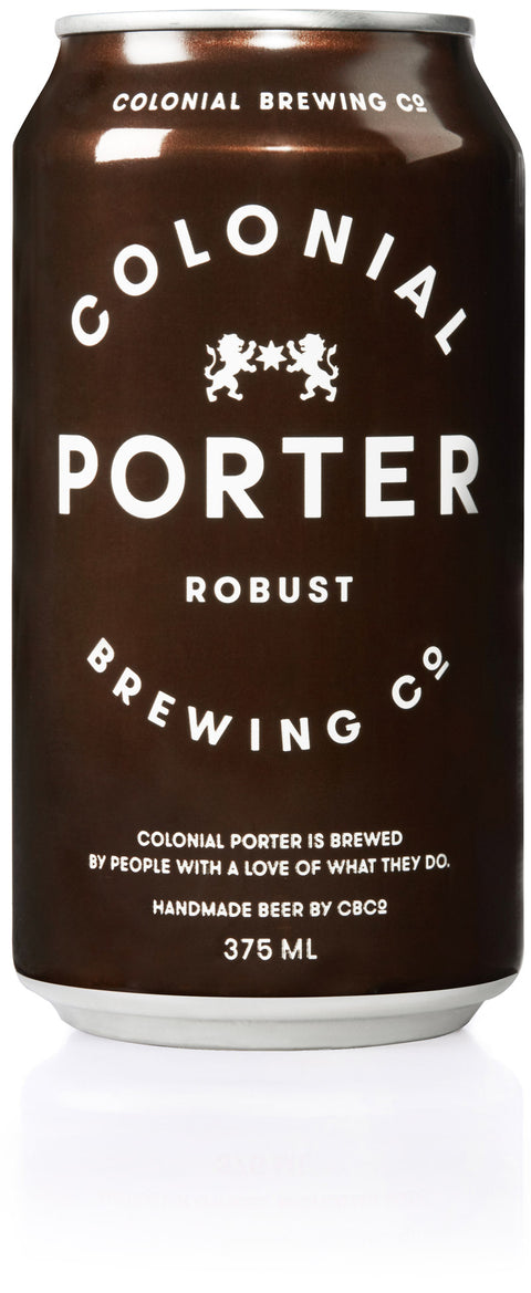 COLONIAL BREWING CO ROBUST PORTER 375ML X 24
