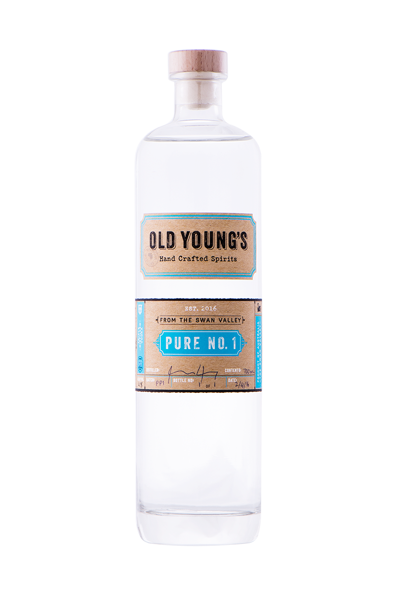 OLD YOUNGS PURE NO.1 VODKA 700ML