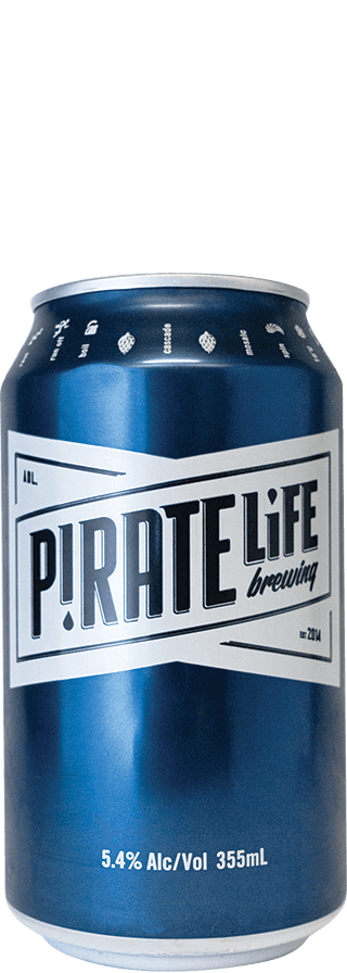PIRATE LIFE PALE ALE CANS 355ML X 24