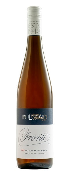 PAUL CONTI LATE HARVEST MUSCAT 2014 'FRONTI'