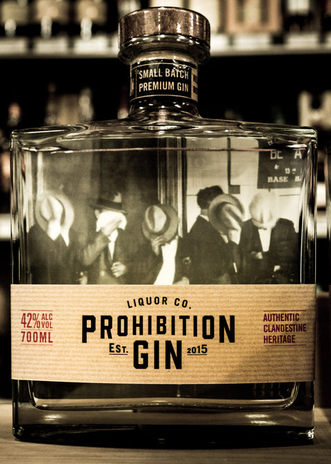 Prohibition Liquor Co Gin Carafe 700mL