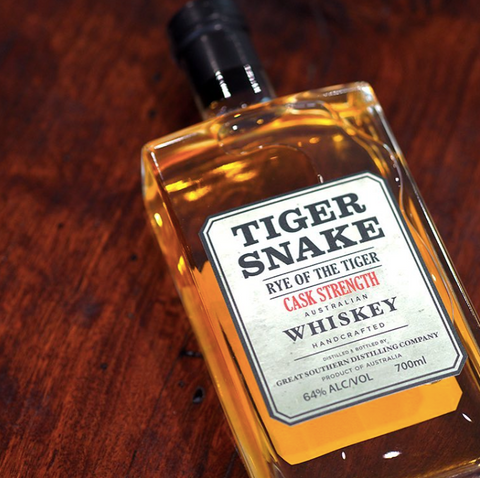 Tiger Snake 'Rye Of The Tiger' R1 Cask Strength 64%