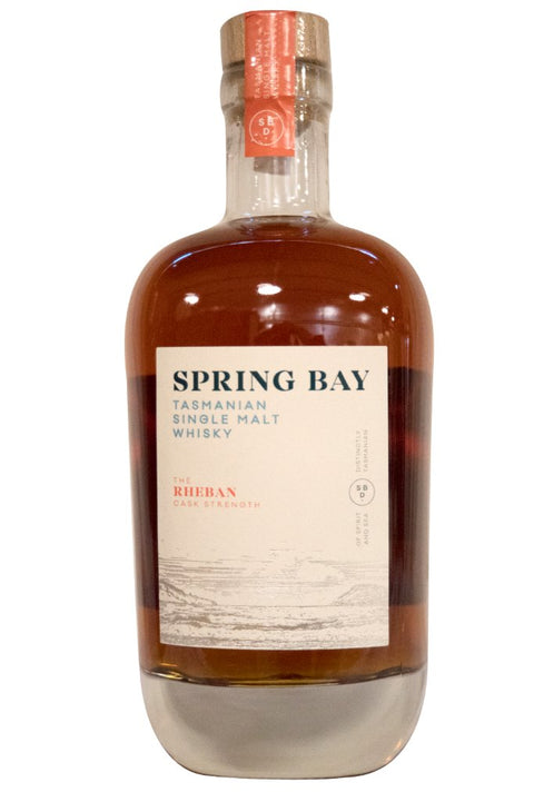 Spring Bay Tasmanian Whisky Single Malt Ex-Port Rheban 58% 700ML