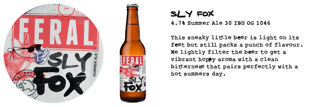 FERAL SLY FOX 330ML X 16