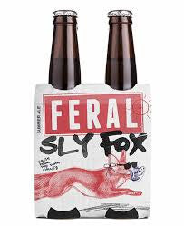 FERAL SLY FOX 330ML X 4