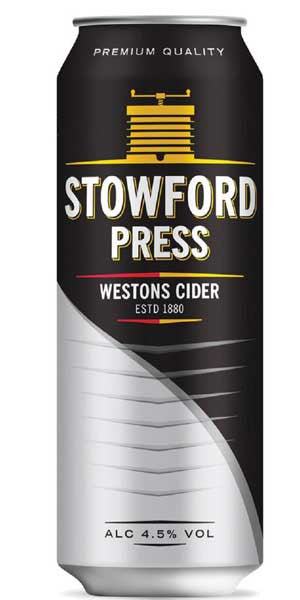 WESTONS STOWFORD PRESS CAN 500ML X 4