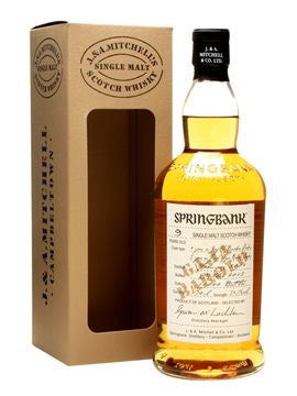 SPRINGBANK 2004 9 YR OLD BAROLO FINISH CAMPBELTOWN SINGLE MALT