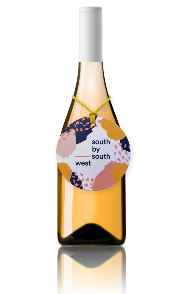 SOUTH BY SOUTH WEST ARANCIA MUST FERMENT VIOGNIER CHARDONNAY BARREL BATCH
