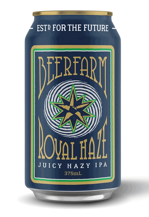 BEERFARM ROYAL HAZE 375ML X 24