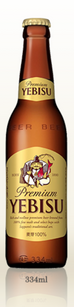 YEBISU PREMIUM ALL MALT LAGER 334ML X 30