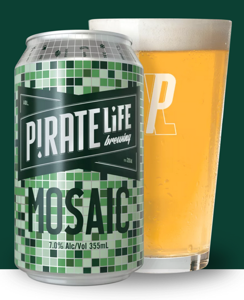PIRATE LIFE MOSAIC IPA CUBE 355ml x 16