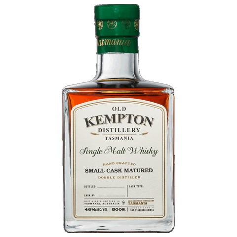 Old Kempton Tasmanian Sherry Small Cask Matured Whisky 46% 500ML