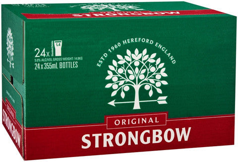 STRONGBOW ORIGINAL 355ML X 24