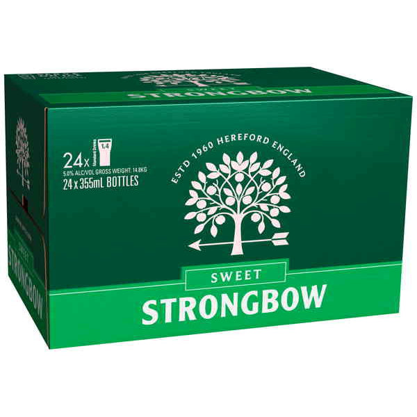 STRONGBOW SWEET 355ML X 24