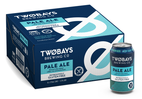 TWO BAYS GLUTEN FREE PALE ALE 375ML X 16