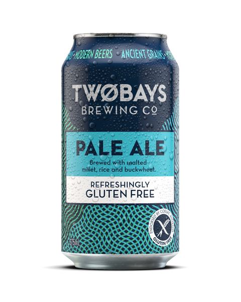 TWO BAYS GLUTEN FREE PALE ALE 375ML X 4
