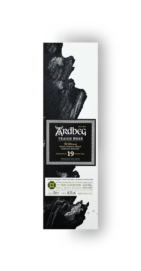 ARDBEG TRAIGH BHAN 19 YR OLD ISLAY SINGLE MALT 46.2%