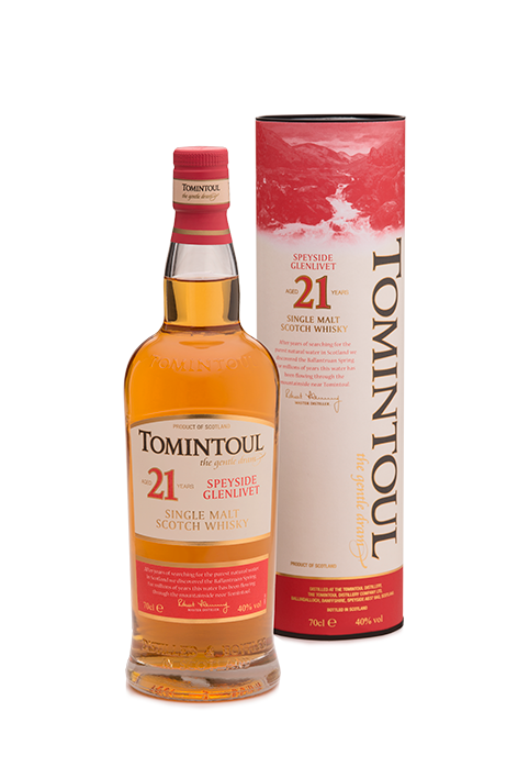 TOMINTOUL 21 YEAR OLD 700ml