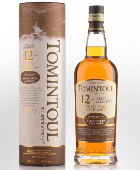 Tomintoul 12 Year Old Limited Edition Oloroso Sherry Cask Finish (700ml)