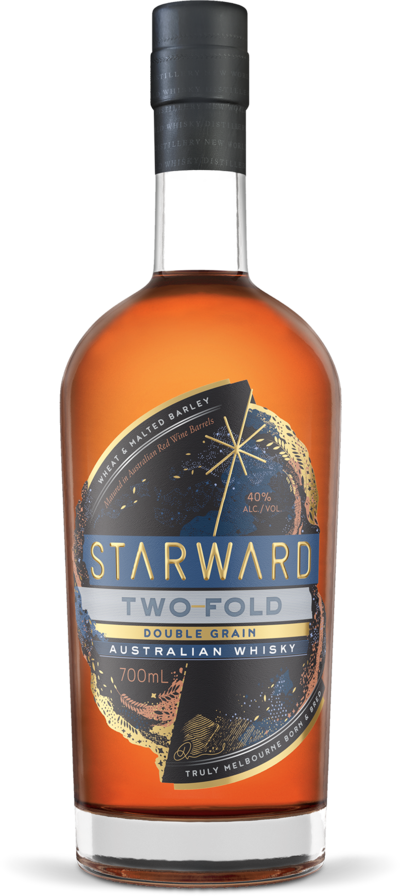 STARWARD WHISKY TWO-FOLD DOUBLE GRAIN WHISKY 700ML