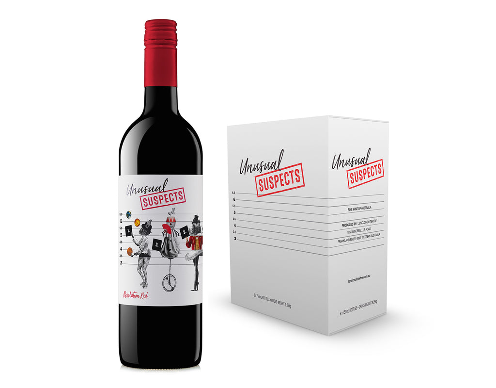 UNUSUAL SUSPECTS REVOLUTION RED BY L'ENCLOS DU TERTRE