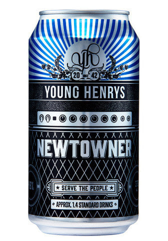 YOUNG HENRYS NEWTOWNER 375ML CAN X 24