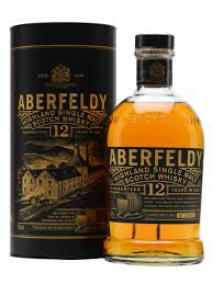 ABERFELDY 12 YR OLD HIGHLAND SINGLE MALT