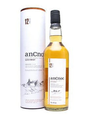 ANCNOC 12 YEAR OLD HIGHLAND SINGLE MALT