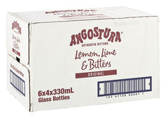 ANGOSTURA LEMON LIME & BITTERS 330ML X 24