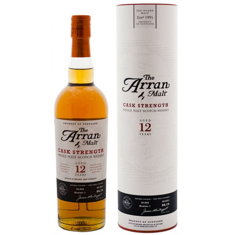 ARRAN 12 YO CASK STRENGTH HIGHLAND SINGLE MALT