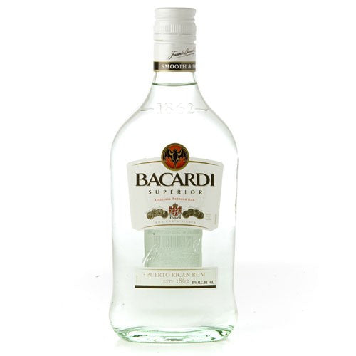 BACARDI RUM SUPERIOR 375ML