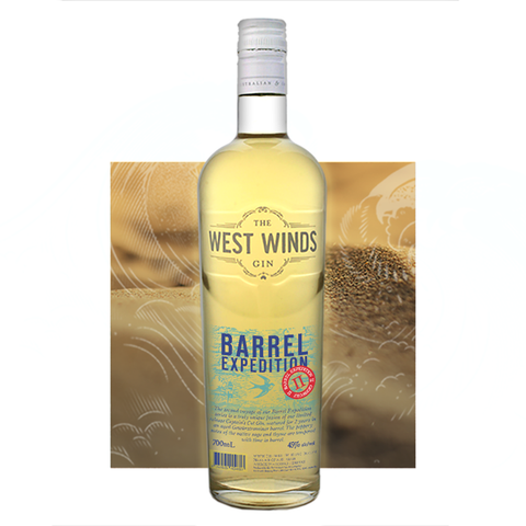 THE WEST WINDS GIN BARREL EXPEDITION II 45%
