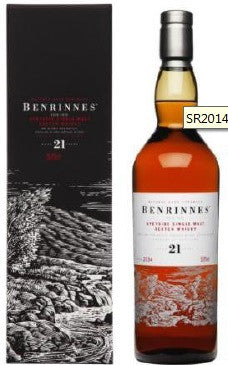 BENRINNES 21 YEAR OLD - 1992 –  56.9%