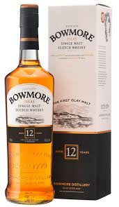 BOWMORE 12 YO ISLAY SINGLE MALT