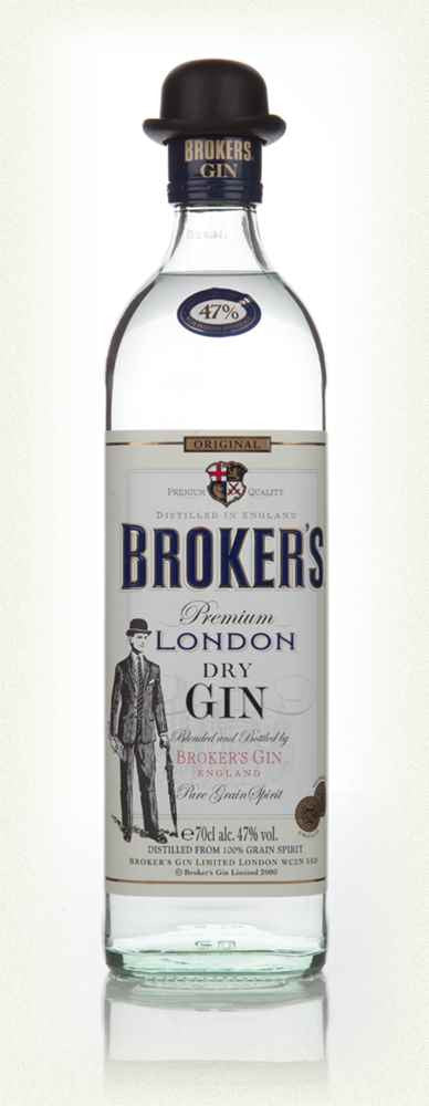BROKERS PREMIUM LONDON DRY GIN 47% 700ML