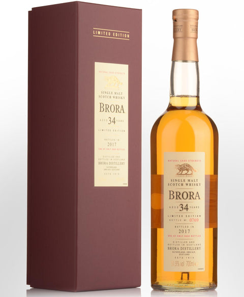 Brora 34 Year Old Highland Single Malt - Distilled 1982 700ML