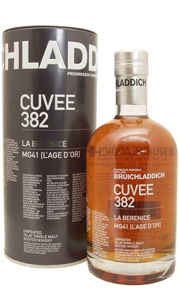 BRUICHLADDICH 21 YO CUVEE 382 LA BERENICE ISLAY SINGLE MALT