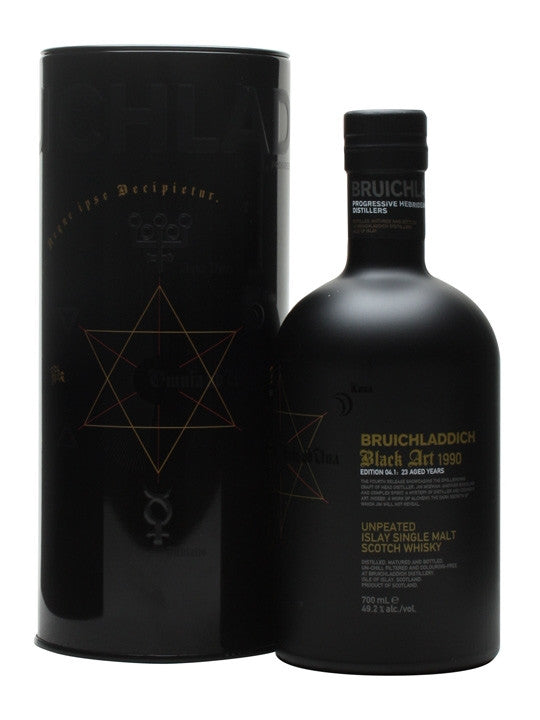 Bruichladdich Black Art 5.1 1992 24 Year Old Single Malt Scotch Whisky 700ml