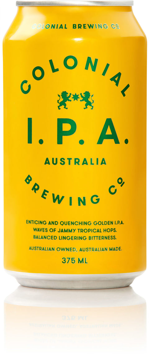 COLONIAL BREWING CO IPA 375ML X 24
